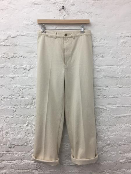 A Détacher Joey Jeans in Ecru Canvas
