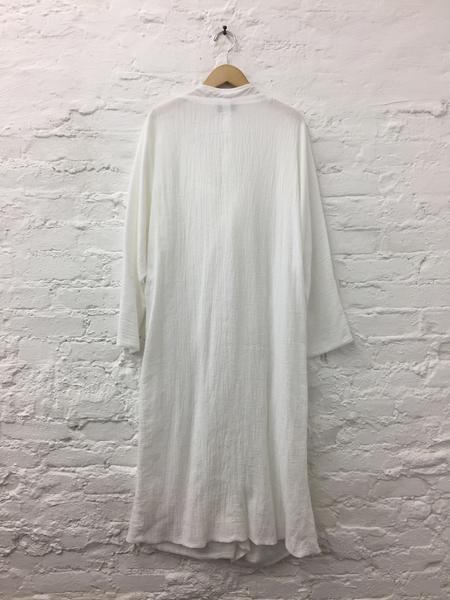 A Détacher Diodore Dress in White