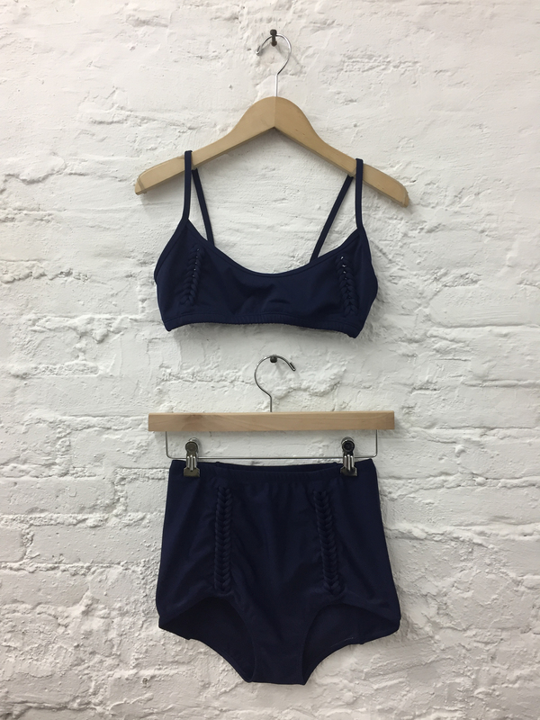 A Détacher Amanda Braided Swim Top