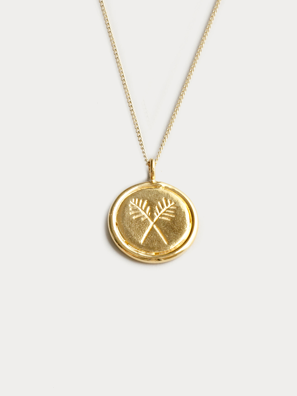 Wolf Circus Palms Necklace