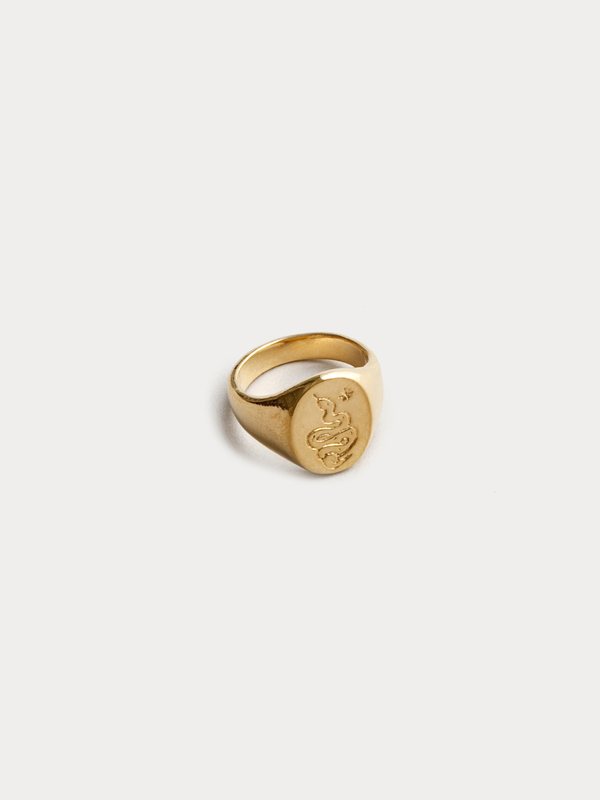 Wolf Circus Ophidian Signet Ring