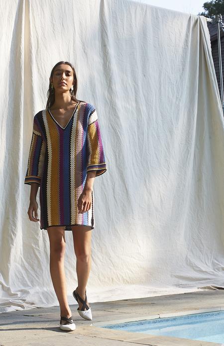 ELEVEN SIX KATJA DRESS - Multi Stripe
