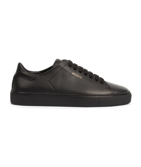 Axel Arigato Clean 90 Leather Sneaker - Black