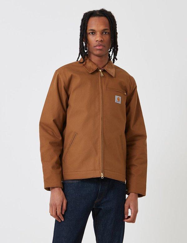 6c9e6e52021 CARHARTT WIP Detroit Jacket - Hamilton Brown | Garmentory