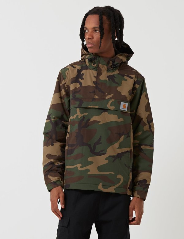 CARHARTT WIP NIMBUS Winter Windbreaker Jacke camo laurel
