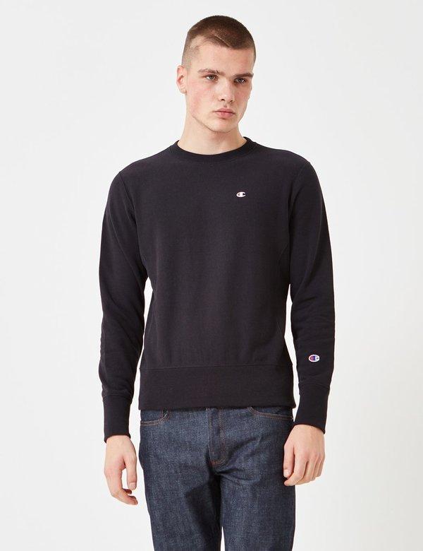 a71f79f8 Champion Reverse Weave Sweatshirt - Black | Garmentory