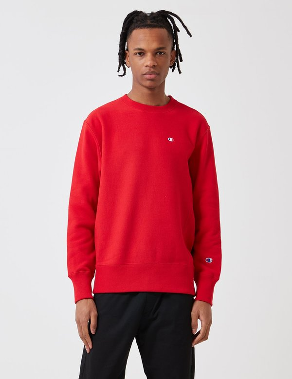 wholesale dealer outlet for sale enjoy best price Champion Reverse Weave Sweatshirt - Heather Red on Garmentory