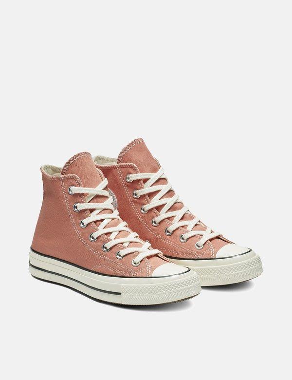 Converse 70's Chuck Taylor Hi Sneakers Desert PeachEgret