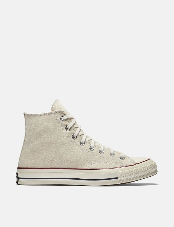 Converse 70's Chuck Taylor Canvas Hi Sneakers - Ecru on Garmentory