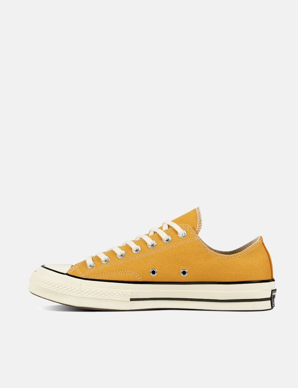 Details about Converse Chuck Taylor All Star 70 SunflowerYellow Canvas Low Tops Men's 12