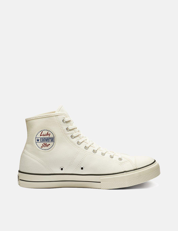 Converse Lucky Star Hi Sneakers EgretBlack