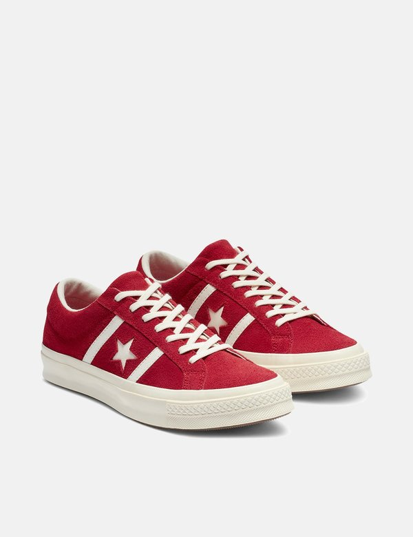 Converse One Star Academy Low Top Trainers Enamel RedEgret