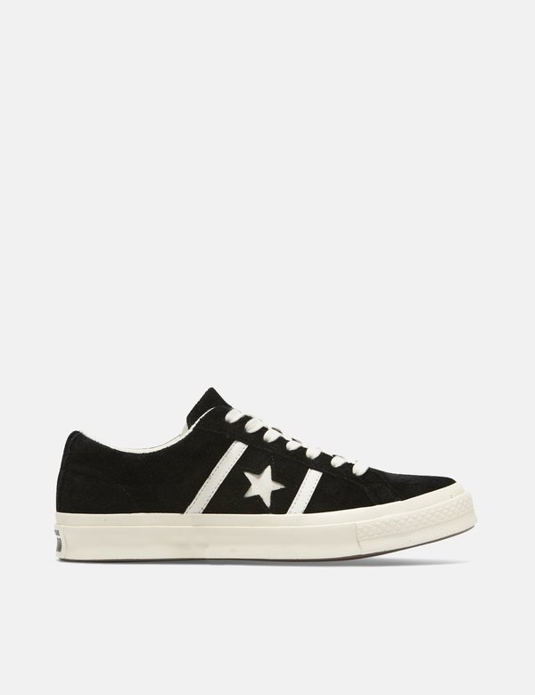 Converse One Star Academy Low Top Black on Garmentory