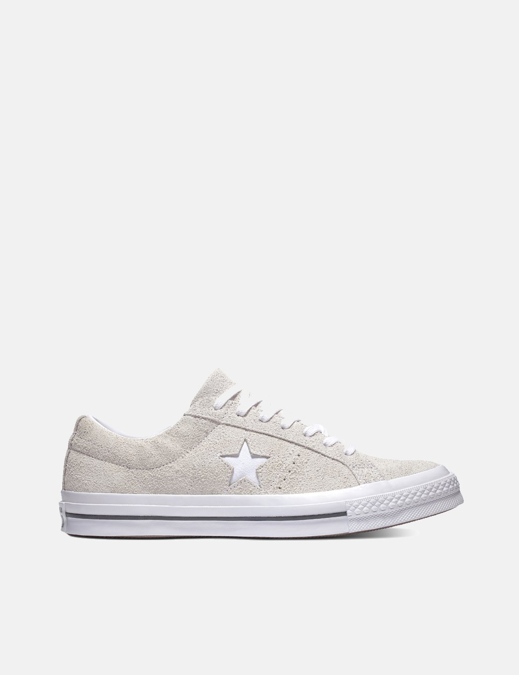 Converse One Star Ox Low Suede (161577C) WhiteWhiteWhite