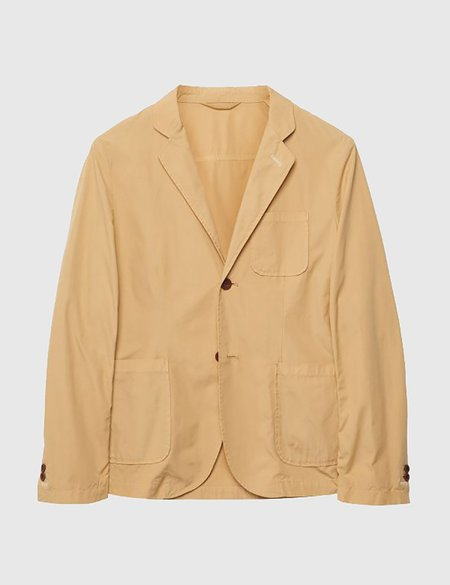 Gant Rugger Cotton Blazer Jacket - Warm Almond