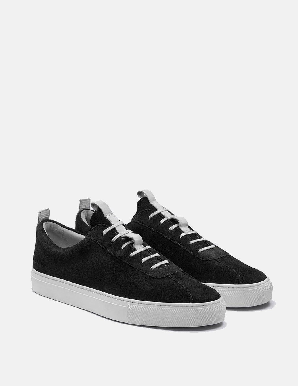 Grenson Suede Sneakers 1 - Black