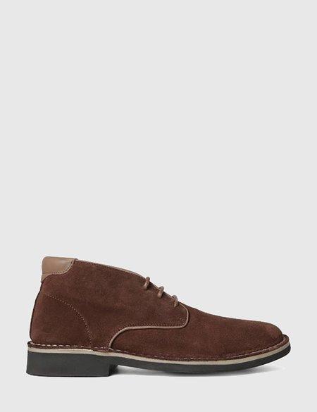 Hudson Margrey Chukka Suede Boots - Brown