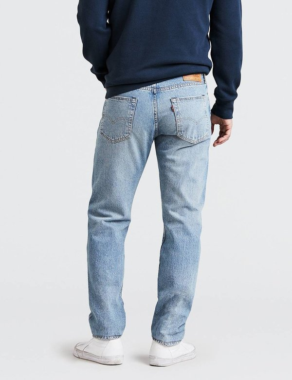 81232a1341acfb Levi's 502 Regular Tapered Jeans - Powder Puff Warp Blue | Garmentory