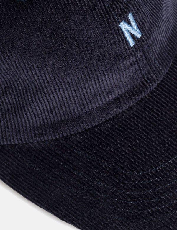 5321942da23 Norse Projects Thin Cord Sports Cap - Dark Navy