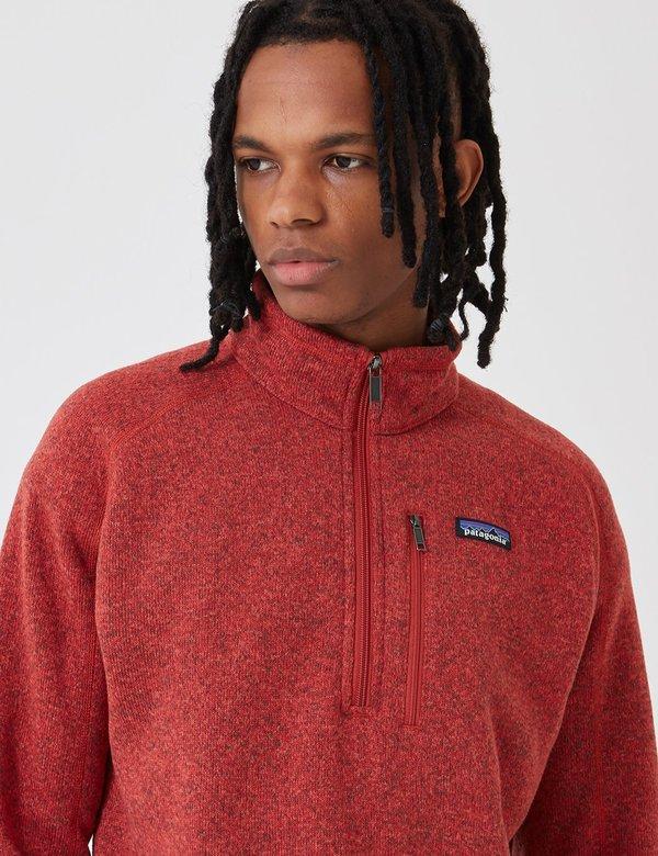 Patagonia Better Zip Sweatshirt - New Adobe Red