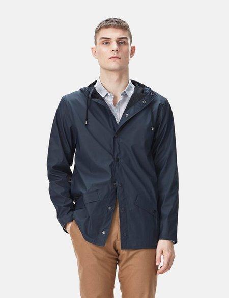 UNISEX Rains Jacket - Navy Blue