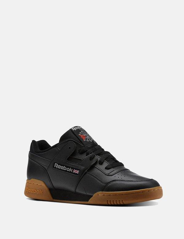 Reebok Workout Plus Gum Sole Sneakers