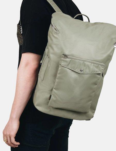Unisex Sandqvist Uno Nylon Backpack - Willow Green