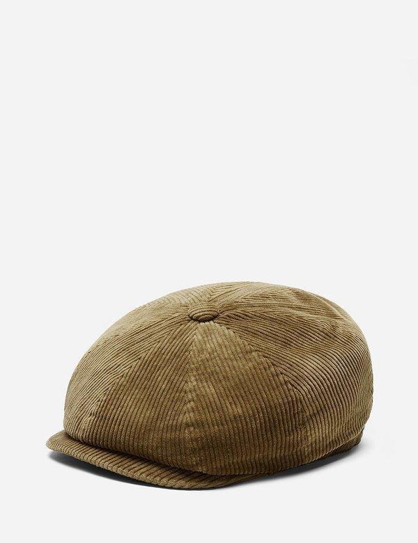 einzigartiger Stil am besten auswählen Farben und auffällig Stetson Hats Stetson Hatteras Cord Newsboy Cap (Cord) - Khaki on Garmentory