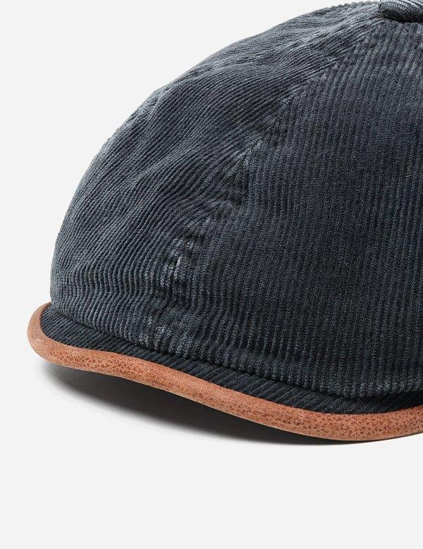 c187fe0c0 STETSON Hatteras Cotton Corduroy Newsboy Cap - Black