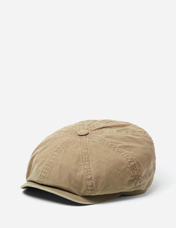 05999f8573ca1a Stetson Hats Stetson Hatteras Delave Organic Cotton Newsboy Cap - Olive  Green