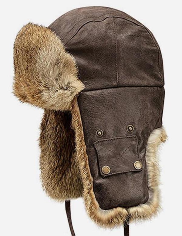 Stetson Starkville Fur Trapper Hat - Brown  ea72cbee38a3