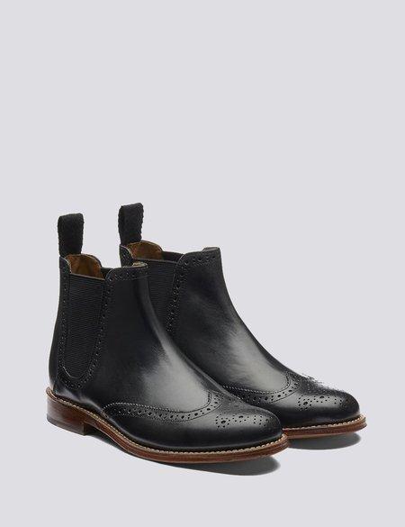 Grenson Jessie Chelsea Leather Boots - Black