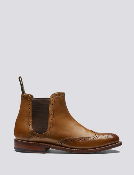 Grenson Jessie Leather Chelsea Boots - Tan