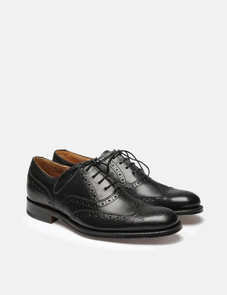 Grenson Martha Brogues - Black