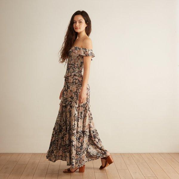 85113cd52b5 Spell Amethyst Shirred Sundress - Nightfall. sold out. Spell