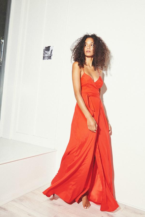 Kamperett Nuit Wrap Dress