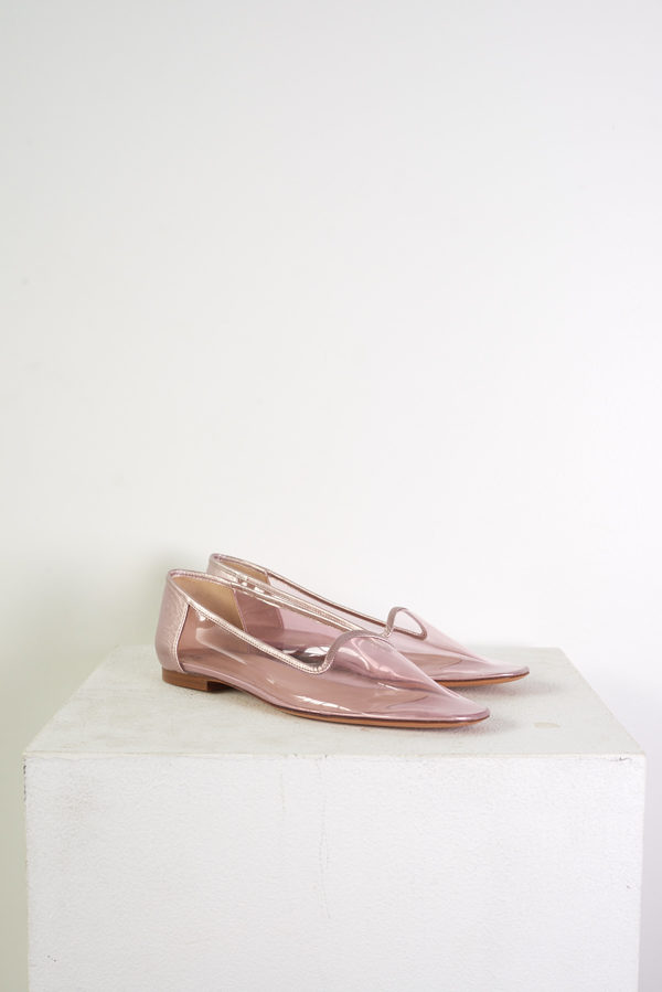 Maryam Nassir Zadeh Pascal Plastic Loafer