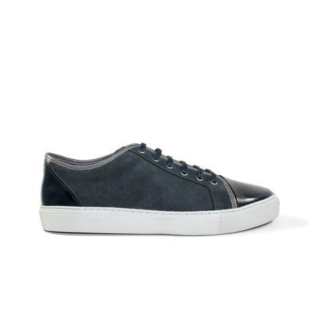 NOAH WAXMAN Gotham II Sneakers - Gray/Navy