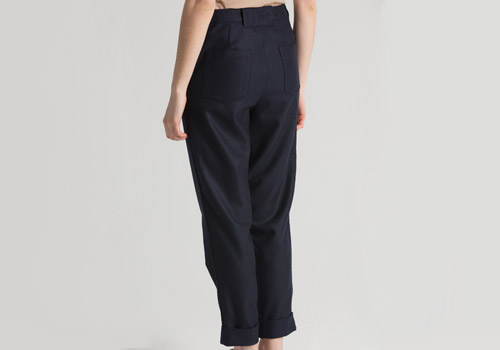 Reality Studio Isaac Navy Trouser