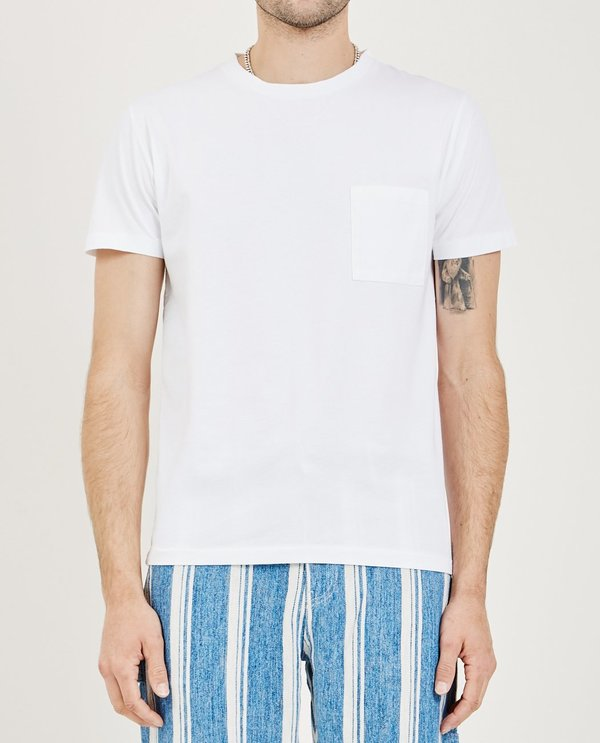Levi's Made & Crafted POCKET TEE - BRIGHT WHITE