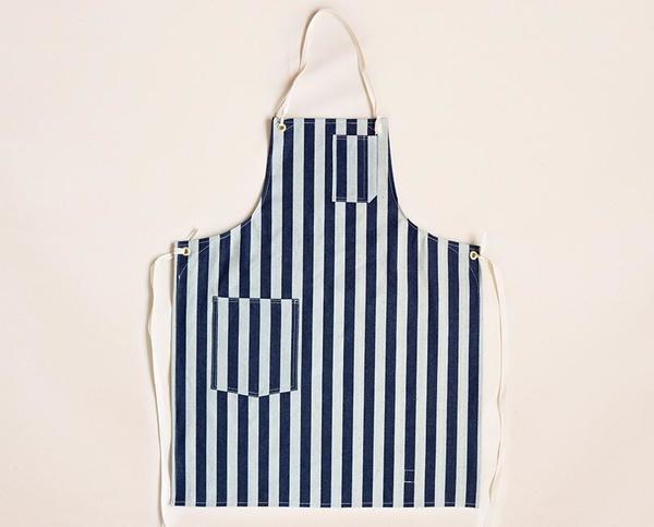 Stanley & Sons Cloth Strap Standard Apron - Wide Stripe