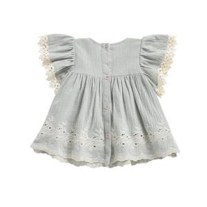 Kids Louise Misha Bahamas Dress - Almond
