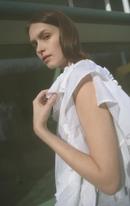 DRESS Broken Pillowcase Top