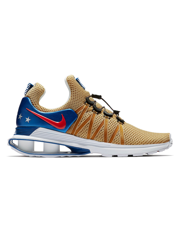 Nike Shox Gravity - Gold/Red