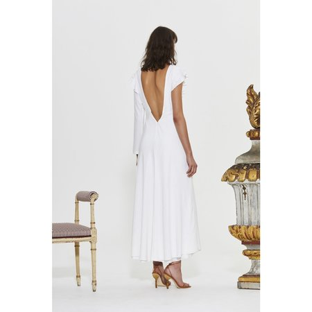 Sir The Label Mathilde Low Back Gown