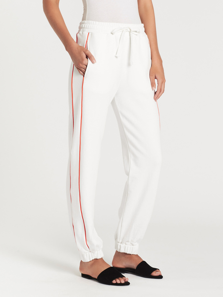 C & M Camilla And Marc Wynn Piping Pant - off white