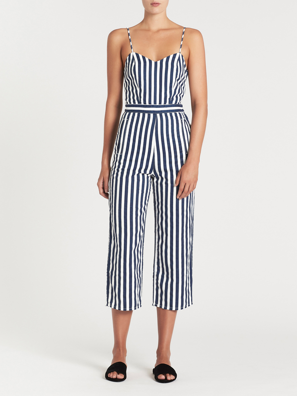 sale usa online low price enjoy best price Mother Denim The Cut It Out Jumpsuit - Sea Daze on Garmentory