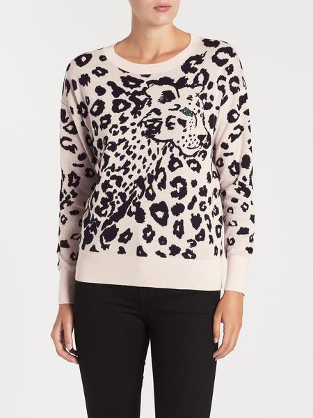 Rebecca Taylor Jacquard Pullover - Animal