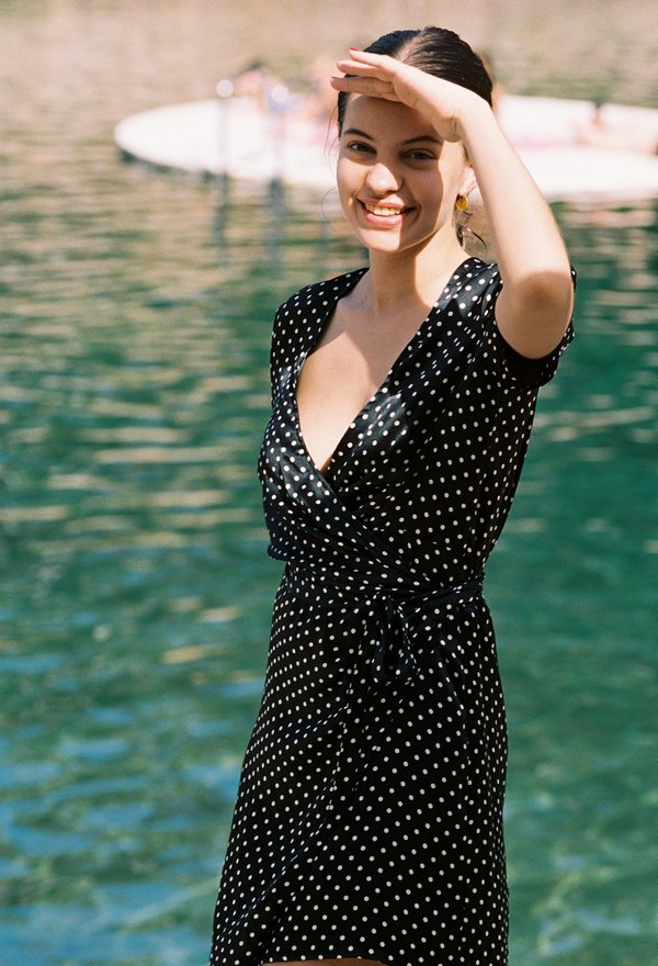 989d1cb151a ciao lucia Zia Polka Dot Dress