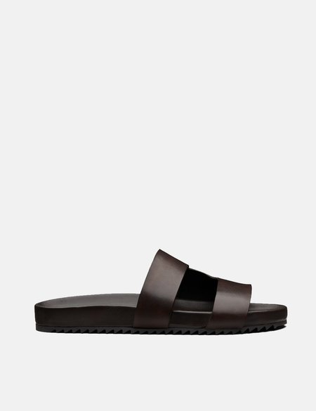 Grenson Hand Painted Chadwick Sandal - Brown